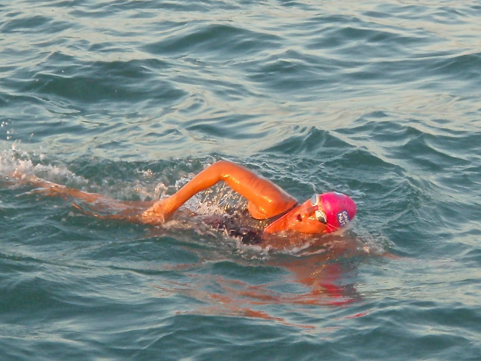 Nikki Watkins: Swimming the Channel in Armbands