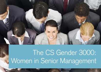 Credit Suisse report: Women in Senior Management improves financial performance.