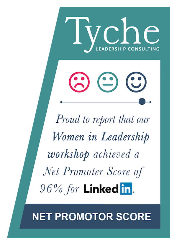 Our Women in Leadership workshop acheived a Net Promoter Score of 96% for LinkedIn