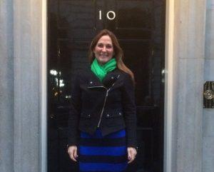 Nikki Watkins 10 Downing street